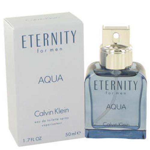 Calvin Klein Eternity Aqua by Calvin Klein Eau De Toilette Spray 1.7 oz Men