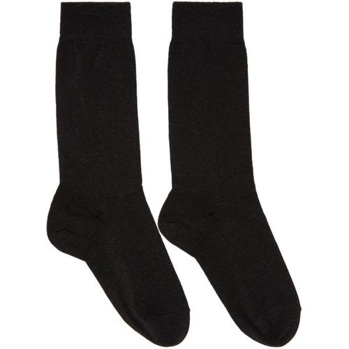 Black Lurex Mileya Socks