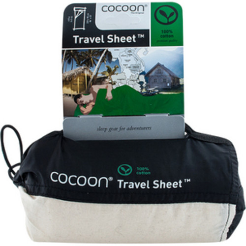 Travel Sheet Cotton Natural