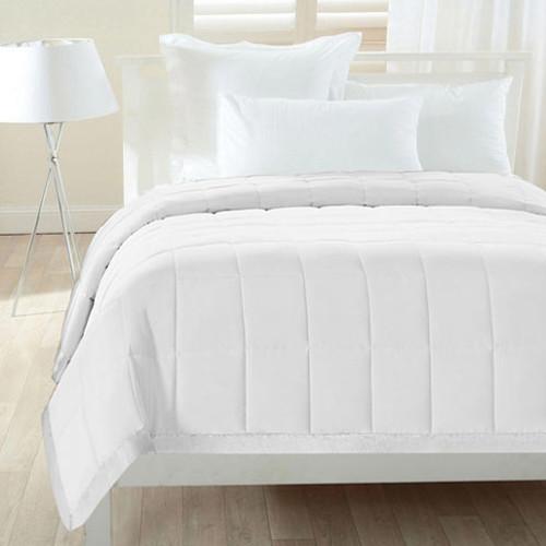All Season Down Alternative Cozy Nightz Polyester Satin Trim Blanket