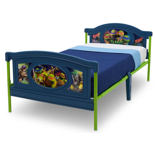Nickelodeon Teenage Mutant Ninja Turtles Twin Bed