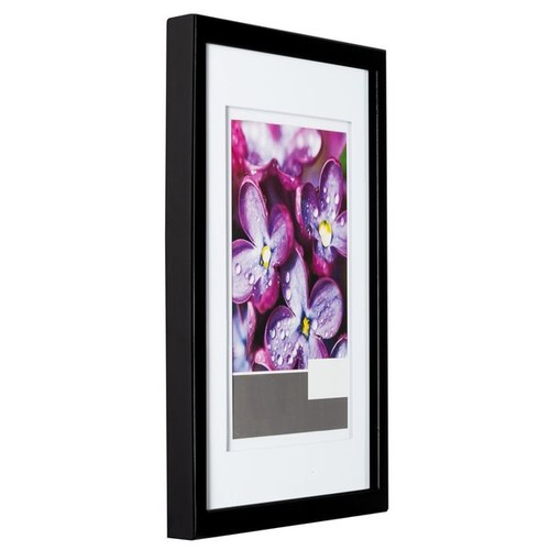 Gallery Solutions Black 14-inch x 18-inch Frame Airfloat Matted to 11-inch x 14-inch