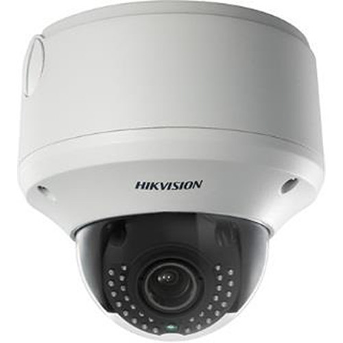 DS-2CD4324FWD-IZHS 2MP WDR IR Outdoor Network Dome Camera with 2.8-12mm Motorized Varifocal Lens, Heater, & Audio I/O