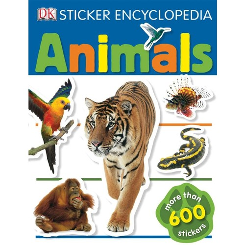 Animals Sticker Encyclopedia