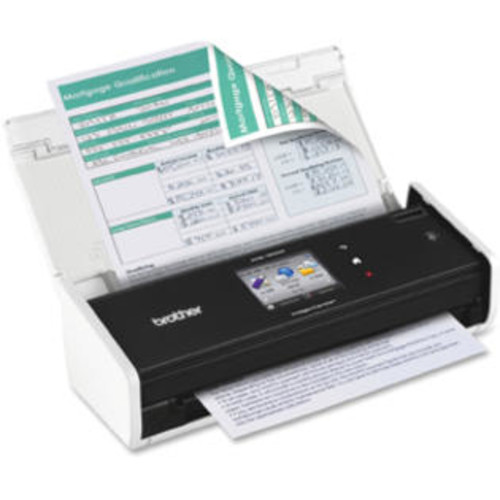 Brother ADS-1500W Sheetfed Scanner - 600 dpi Optical - 30-bit Color - 8-bit Grayscale - USB