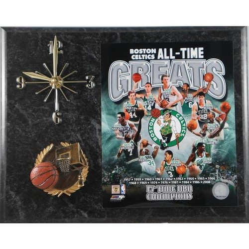 Boston Celtics 'All Time Greats' Clock