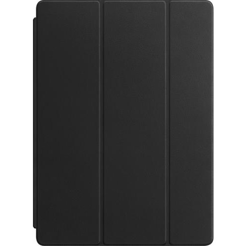 Apple - Leather Smart Cover for 12.9-inch iPad Pro (Latest Model) - Black