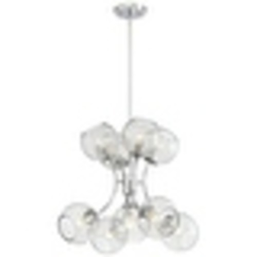 Kovacs P1849-077 9 Light Chandelier from the Exposed Collection
