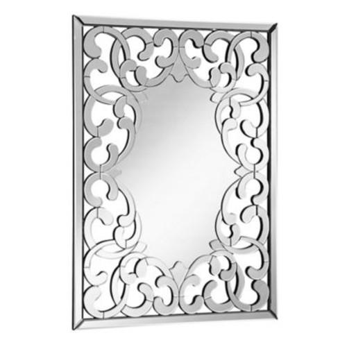 Modern Rectangular Lattice Mirror