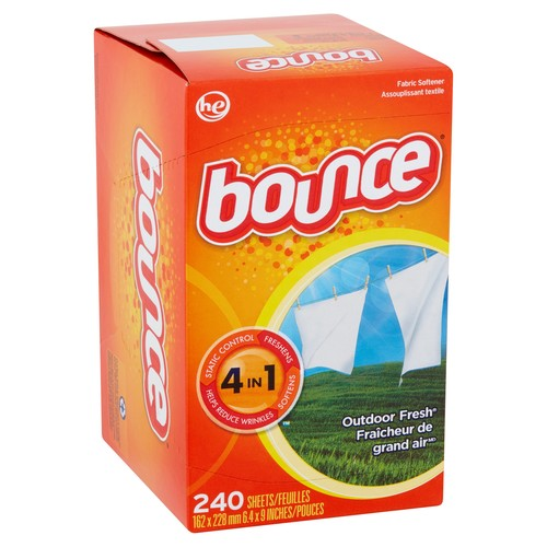 Bounce Fabric Softener Sheets, Outdoor Fresh, 240 Count [Single]