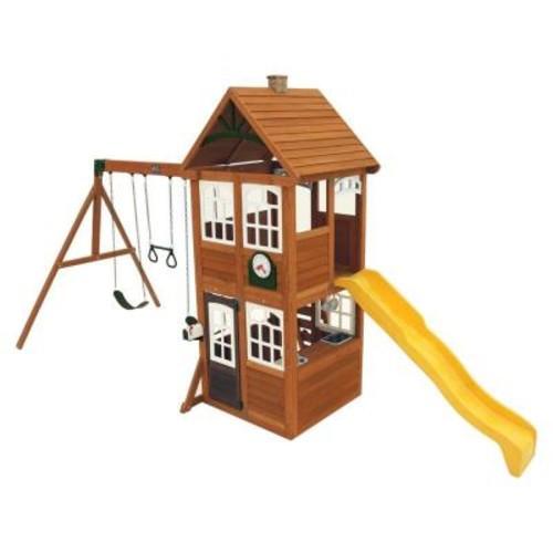 Cedar Summit Willowbrook Wooden Playset / Swing Set