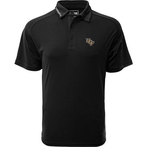 Levelwear Men's UCF Knights Black Tactical Polo