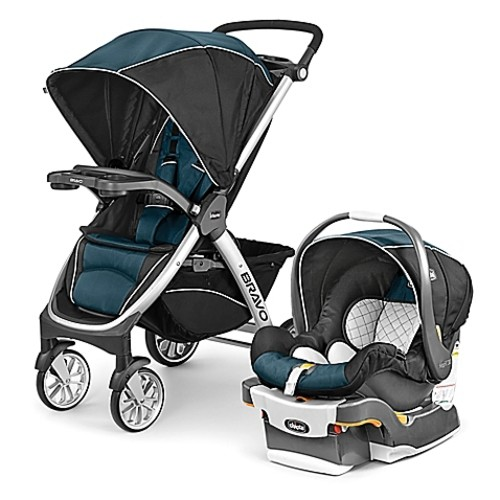 Chicco Bravo Trio Travel System in Lake