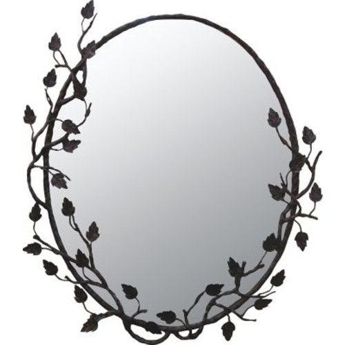 Quiescence Aspen Mirror; Enhanced Oil Rubbed Bronze