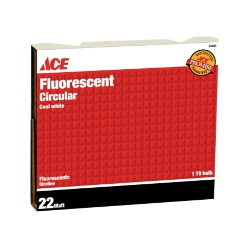 Ace 22W 8in Circline Fluorescent Light Bulb