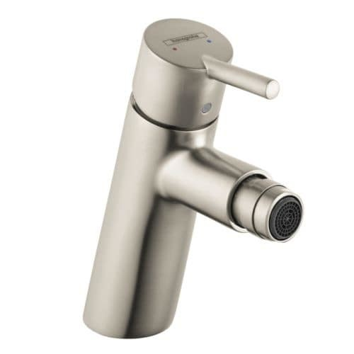Hansgrohe 32240 Talis S Bidet Faucet Single Hole with Pop Up Assembly [option : Nickel Finish]