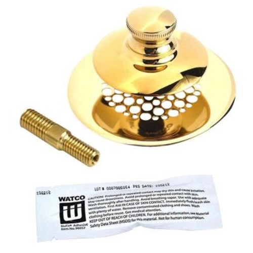 Watco UnivNuFit-PP-Silicone and Combo Pin, Polished Brass