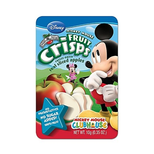 Brothers-All-Natural Disney Mickey Mouse Apple Fruit Crisps