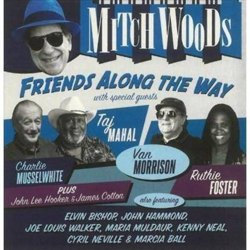 Mitch Woods - Friends Along The Way (CD)