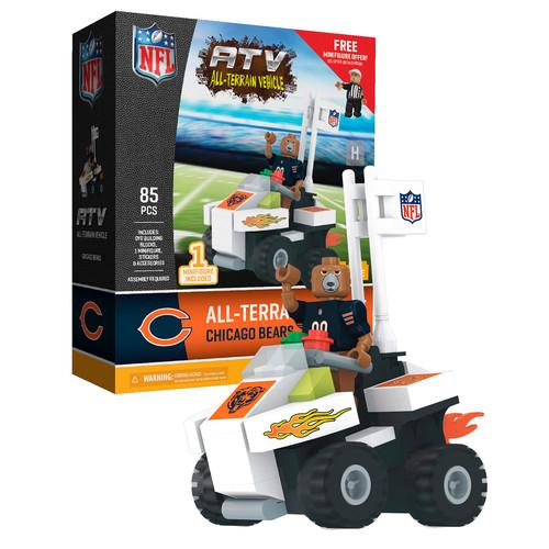 OYO Sports NFL Chicago Bears NFL 4 wheel ATV with Mascot