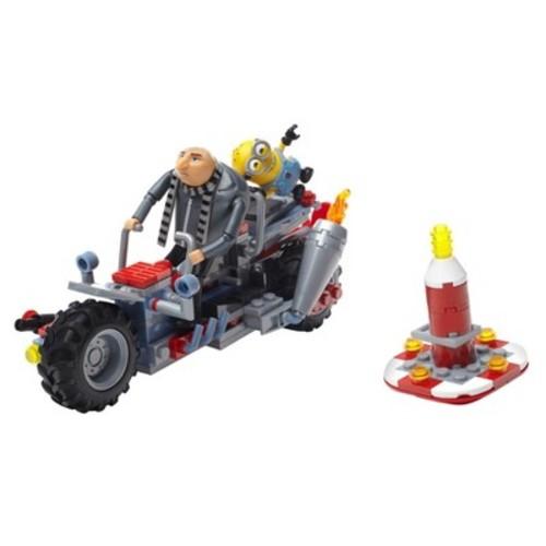 Mega Construx Despicable Me 3 Gru's Water Motorbike Building Set 186 Pieces