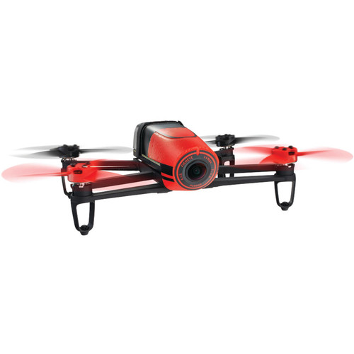 Parrot Bebop Drone Red BeBop Drone MP Full HD Fisheye Camera Quadcopter - Red (PF722000)