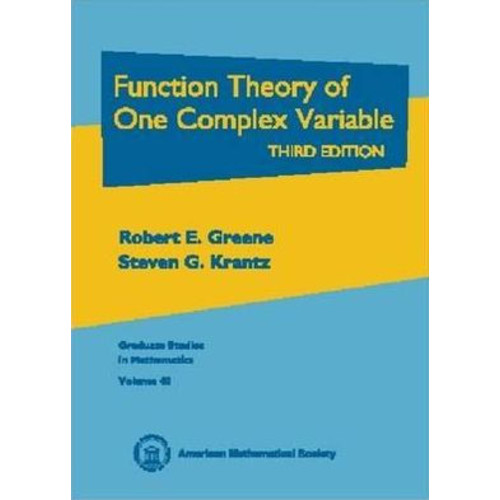Function Theory of One Complex Variable / Edition 3