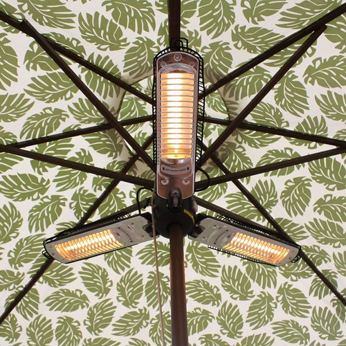 Umbrella Halogen Patio Heater by Fire Sense