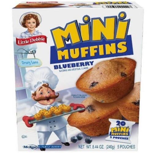 Little Debbie Little Blueberry Muffins (5 pouches/8.27 oz. box)