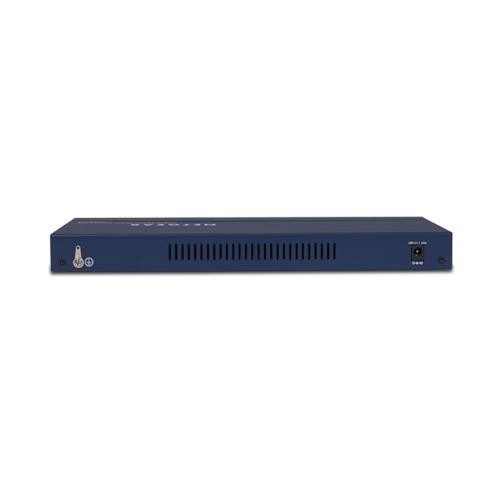 NETGEAR 16-Port Fast Ethernet Unmanaged Switch, 70w 8xPoE, ProSAFE Lifetime Protection (FS116PNA)