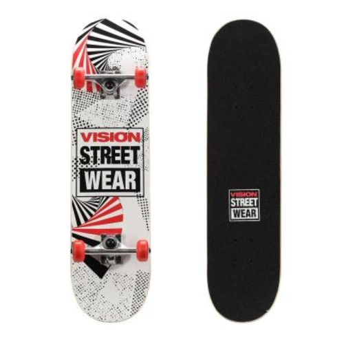 Vision 31 in. Skateboard in Spiral Cube Graphic