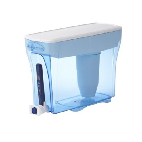 ZeroWater 30 Cup Dispenser with Free TDS Meter (Total Dissolved Solids)