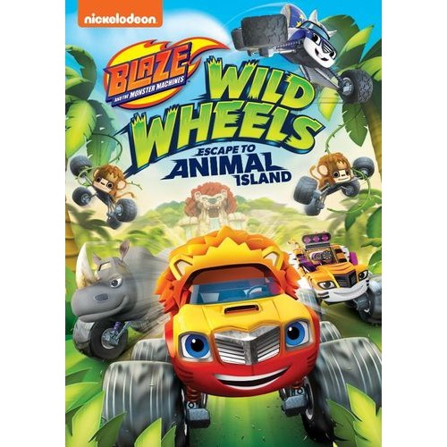 Blaze and the Monster Machines: Wild Wheels Escape to Animal Island [DVD]