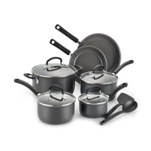 T-Fal Precision Ceramic Hard Anodized 12-Piece Cookware Set