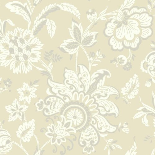 Arabella Wallpaper in Beige and Silver design by York Wallcoverings - 2 [Quantity : 2]