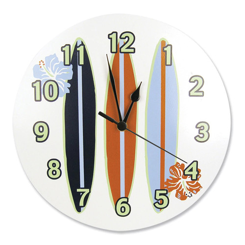 Trend Lab Surfs Up Wall Clock [White]