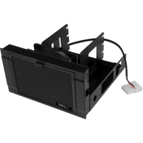 StarTech 4x 2.5in SSD/HDD Mounting Bracket with Cooling Fan - Four-Drive Mounting Bracket for Desktop Computer or Server