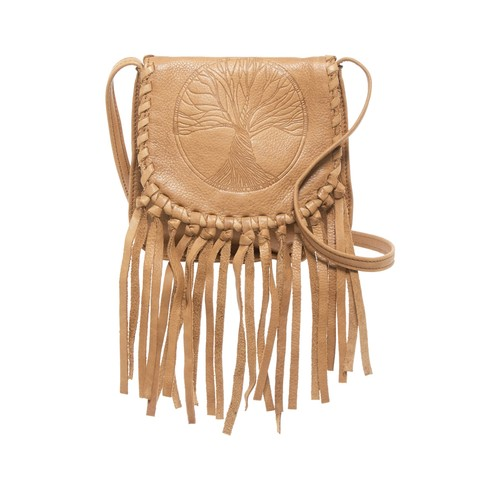 Peony Leather Crossbody Bag