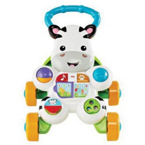 Fisher-Price Toddler Learn with Me Zebra Baby Walker (DKH80)