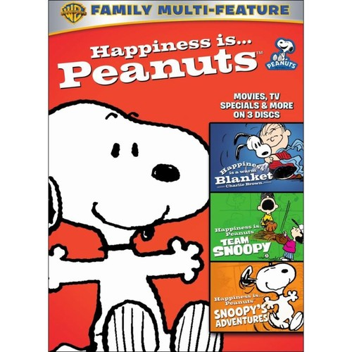 Happiness Is... Peanuts: Movies, TV Specials & More [3 Discs] [DVD] [2011]