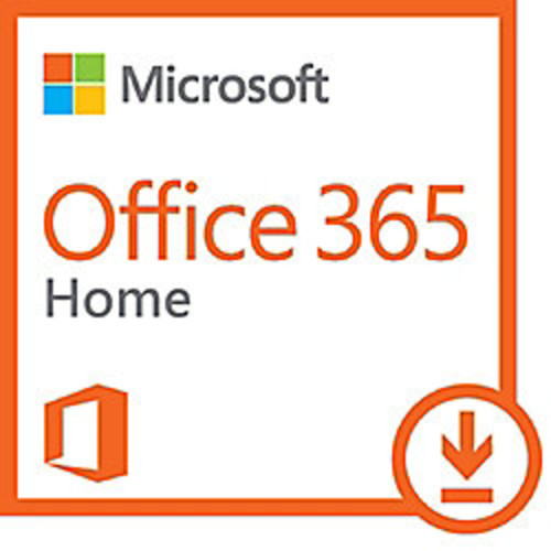 Office 365 Home, 1-year subscription, 5 PCs/Macs, Download Version