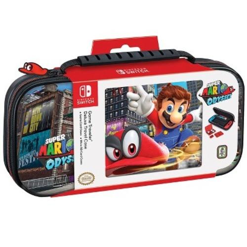 Nintendo Switch Game Traveler Super Mario Odyssey Deluxe Travel Case