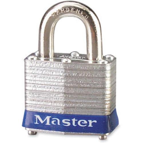 Master Lock (Price/EA)Master Lock High Security Keyed Padlock, Keyed Different - Steel Body, Steel Shackle - Silver