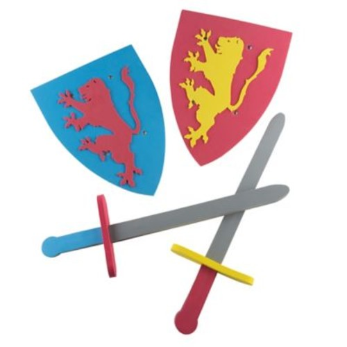 Hey! Play! Foam Sword & Shield Armor Playset
