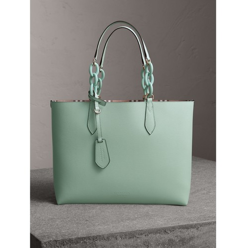 The Medium Reversible Tote with Resin Chain