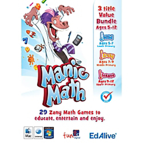 Manic Math Totally Mental Bundle, Download Version