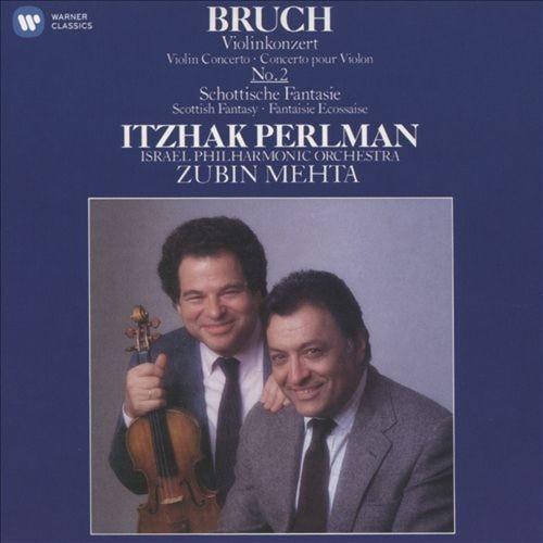 Bruch: Violin Concerto No. 2 & Scottish Fantasy [1986 Recording] [CD]