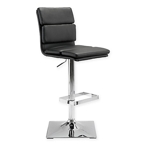 Zuo Use Bar Stool in Black