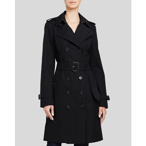 BURBERRY Sandringham Cotton Trench Coat