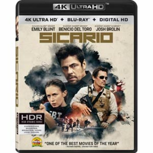 Sicario [4K UHD] [Blu-Ray] [Digital HD]